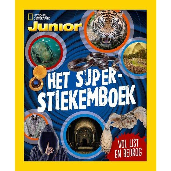 Junior winterboek 'Het super stiekem boek'