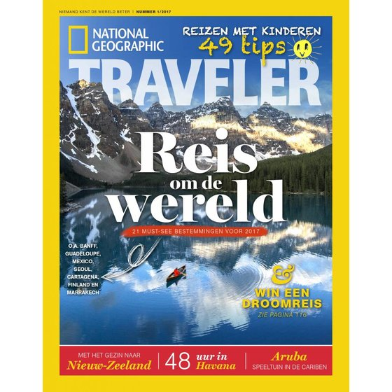 National Geographic Traveler | Editie 1 - 2017