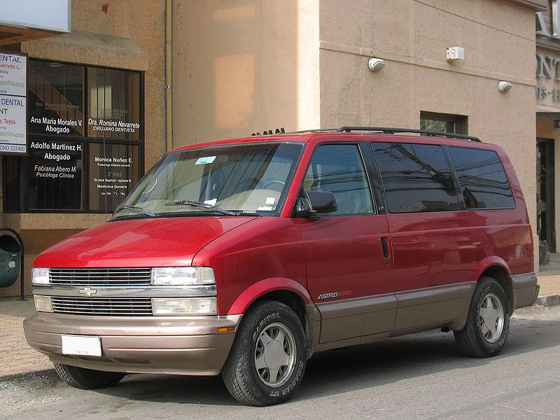 Chevrolet Astro 1996 - 2005