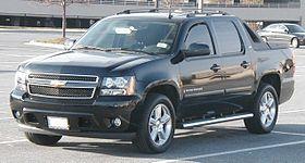 Chevrolet Avalanche 2007 - 2013