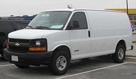 Chevrolet Express 1500 2003 - 2013