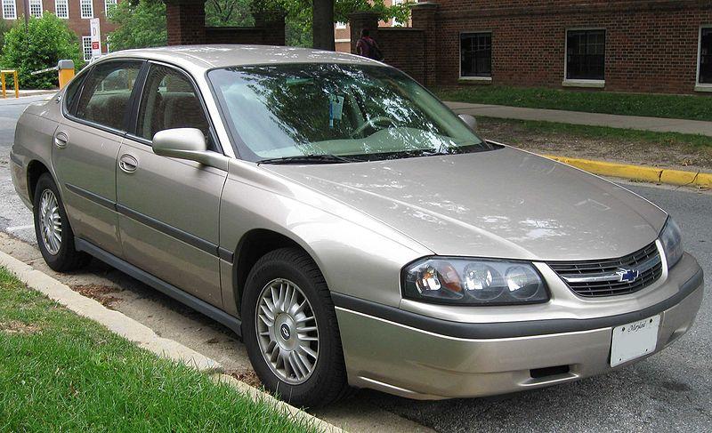 Chevrolet Impala 2000 - 2005