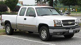 Chevrolet Silverado 1500 1999 - 2007