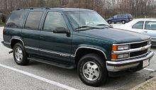 Chevrolet Tahoe 1995 - 1999