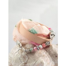 Roza - wrap bracelet & Jade