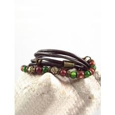 Esmeralda: Wrap bracelet