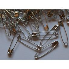 Sicherheitsnadeln silber 28, 35, 38, 44, 56mm von 250 Stück bis 1000 Stück