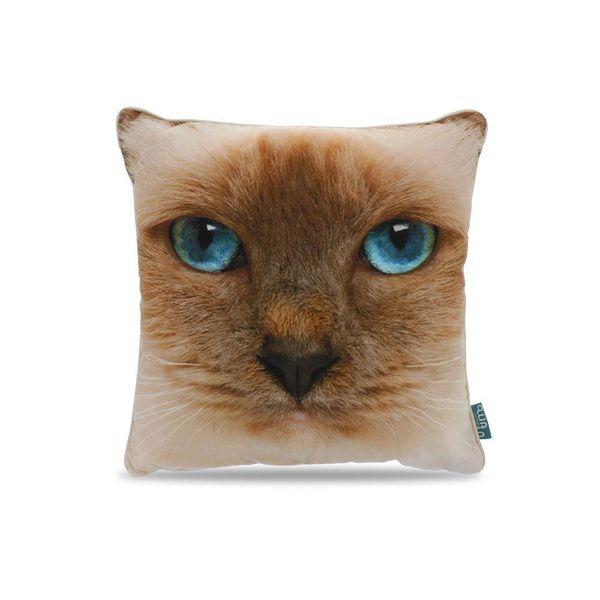 Intimo Intimo Sierkussen Cat Face Light Brown - Bruker Slaapcomfort