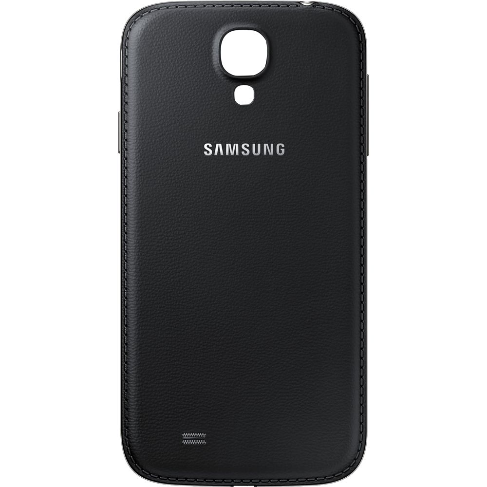 Oppdatert Samsung Galaxy S4 Back Cover - Accudeksel - Achterkant - Black GY-14