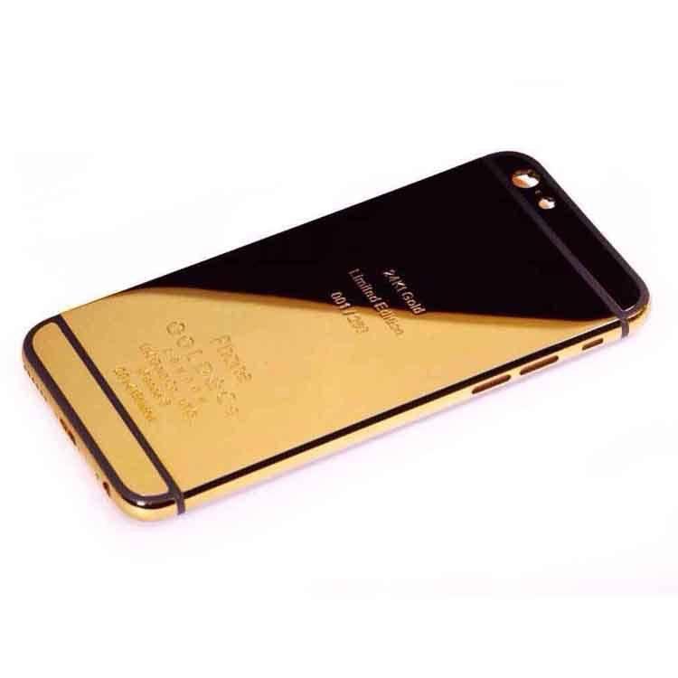 Luxury iPhones and Cases  Golden Concept