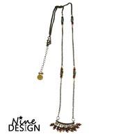 ND Necklace Bronze Folk