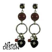 ND Elena Silver Earrings