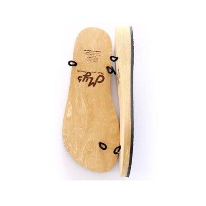 Cunya 3 Brown slippers Cunya 3 Brown slippers incl. accessoire en 3 x lint