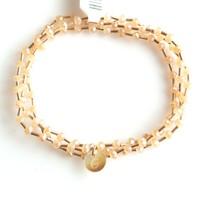 Crystal bracelet set 4mm Nude
