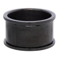 IXXXI JEWELRY RINGEN iXXXi Grundring 1,2cm Schwarz