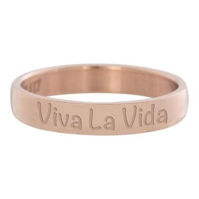 IXXXI JEWELRY RINGEN iXXXi Vulring 0.4 cm Viva la vida rosekleurig Edelstaal