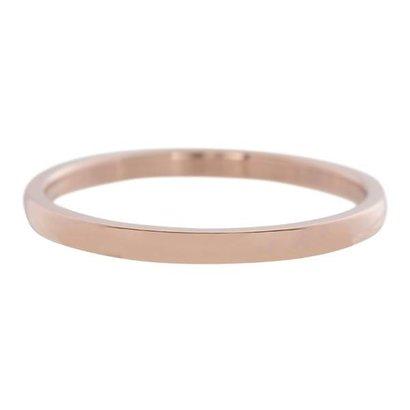 IXXXI JEWELRY RINGEN iXXXi Vulring 0.2 cm Staal Shiny Rosekleurig Smal