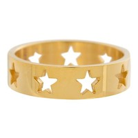 IXXXI JEWELRY RINGEN iXXXi Waschmaschine Open Gold Sterne