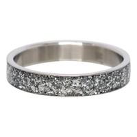 IXXXI JEWELRY RINGEN iXXXi Washer Glitter Silver