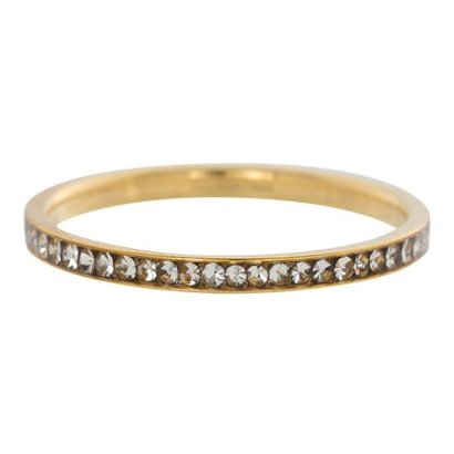 IXXXI JEWELRY RINGEN iXXXi Vulring 0.2 cm Smal Zirkonia Crystal Gold