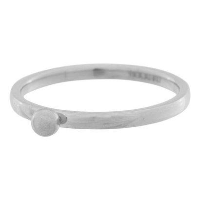 IXXXI JEWELRY RINGEN iXXXi Jewelry Vulring 0.2 cm Staal Shiny 1 Bolletje Zilverkleurig