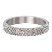 IXXXI JEWELRY RINGEN iXXXi Schmuck Washer 0,4 cm Caviar-Silber-Ring