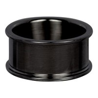 IXXXI JEWELRY RINGEN iXXXi Basic Ring 1.0cm Black