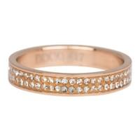 IXXXI JEWELRY RINGEN iXXXi Jewelry Vulring 0.4 cm Double Zirkonia Rose