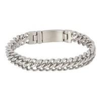 iXXXi JEWELRY iXXXi STEEL Bracelet Silver smalle brushed schakelarmband