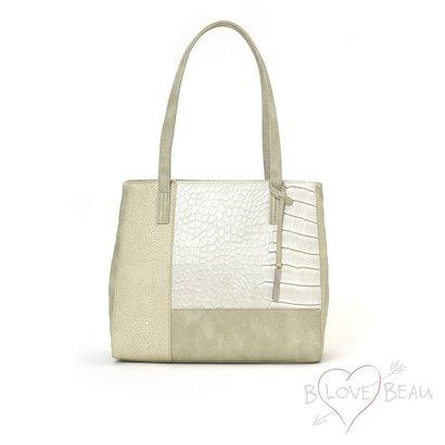 B LOVE BEAU TASSEN Handtasche B Beau Love Light mit einem separaten Composite Front Kunstleder.
