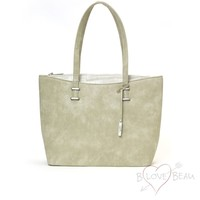 Shopper bag model B Beau Love Light Green