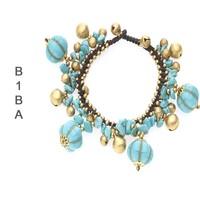 BIBA ARMBANDEN Biba Geknoopte armband met Bedels