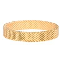IXXXI JEWELRY RINGEN iXXXi Schmuck Washer 0,4 cm MESH GOLD