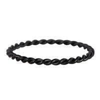 CHARMIN'S Drehen Charmins Ring Black Steel