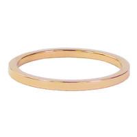 CHARMIN'S Charmins Ring Plain Rose Gold Stahl