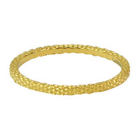 CHARMIN'S Charmins Ring Snake Gold Steel