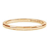 CHARMIN'S Charmins Ring Winkel Rose Gold Stahl