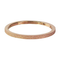 CHARMIN'S Charmins Ring Rose Gold Steel Sanded
