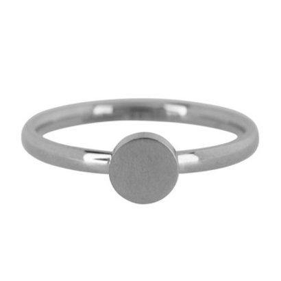 CHARMIN'S Charmins Fashion Seal Medium stalen stapelring R423 Silver Steel van het fashion sieradenmerk Charmin's.