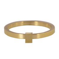 CHARMIN'S Charmins Ring Quatre Gold Stahl Stahl