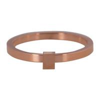 CHARMIN'S Charmins Ring Quatre Rose Gold Stahl Stahl
