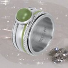 IXXXI JEWELRY RINGEN iXXXi COMBINATION RING SILVER 1015 OLIVINA