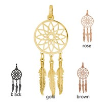 iXXXi JEWELRY IXXXI JEWELRY PENDANT DREAM CATCHER STAINLESS STEEL