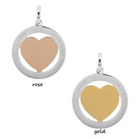 iXXXi JEWELRY IXXXI JEWELRY PENDANT LOVE IS 2 COLORS STAINLESS STEEL