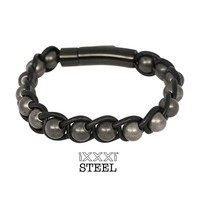 iXXXi JEWELRY iXXXi STEEL Bracelet JAKARTA BLACK ANTIQUE