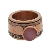 IXXXI JEWELRY RINGEN iXXXi COMBINATIE RING 12mm ROSE 1026 Pink Cateye Heart