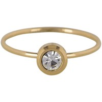CHARMIN'S Charmins ring  Shiny STYLISH Steel Goud Staal