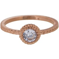 CHARMIN'S Charmins Ring Shiny ICONIC Rose Gold Stahl Stahl