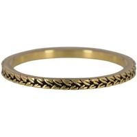 CHARMIN'S Charmins ring BRAIDS Steel Gold Steel