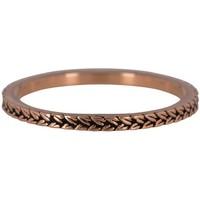 CHARMIN'S Charmins ring BRAIDS Steel Rose Gold Steel